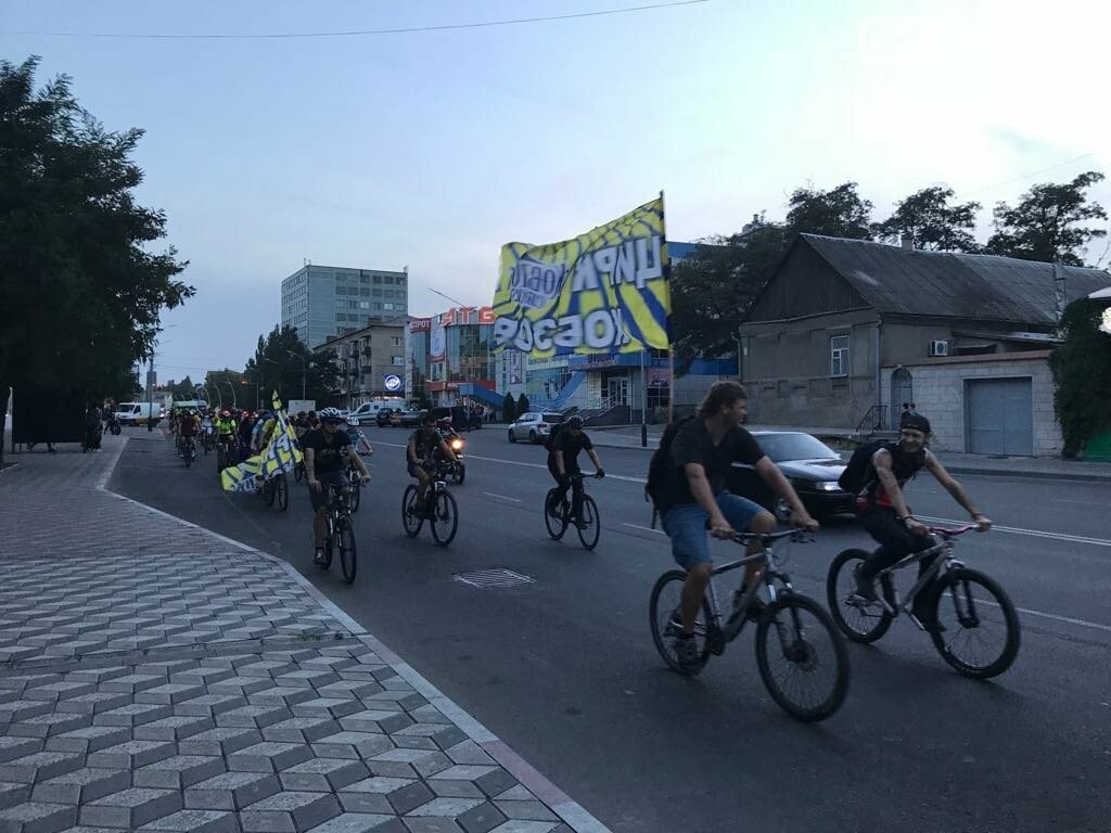 В Мелитополе состоялся необычный велопробег, фото-11