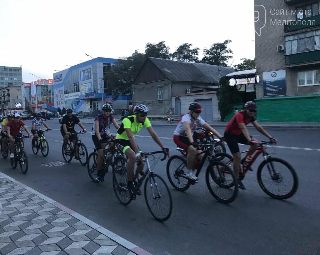 В Мелитополе состоялся необычный велопробег, фото-12