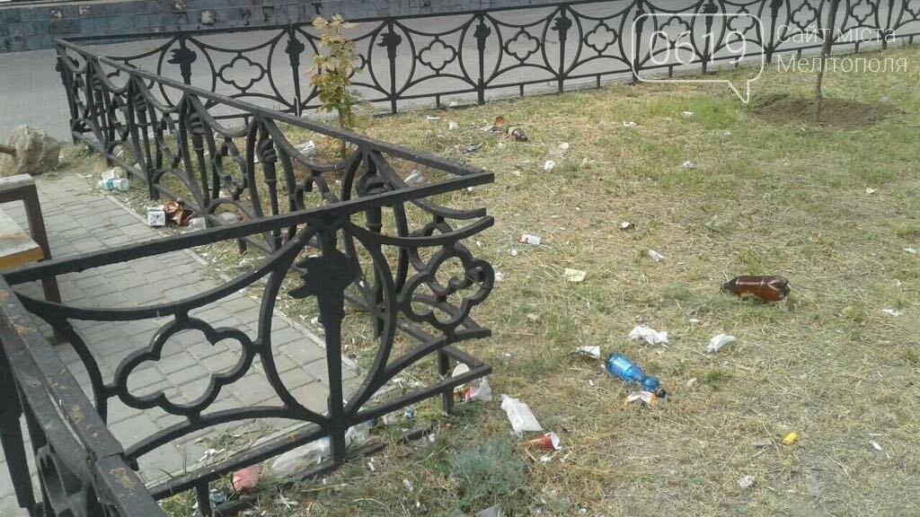 Зеленую зону в Мелитополе превратили в свалку, фото-7