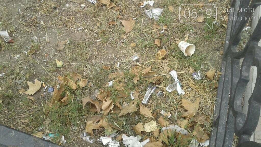 Зеленую зону в Мелитополе превратили в свалку, фото-8