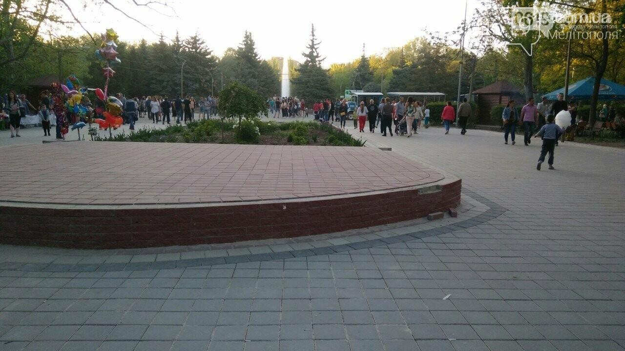 В мелитопольском парке переделывают новую сцену, фото-2