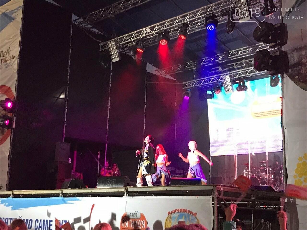 В Мелитополе День города отметили концертом и ярким фейерверком, фото-8