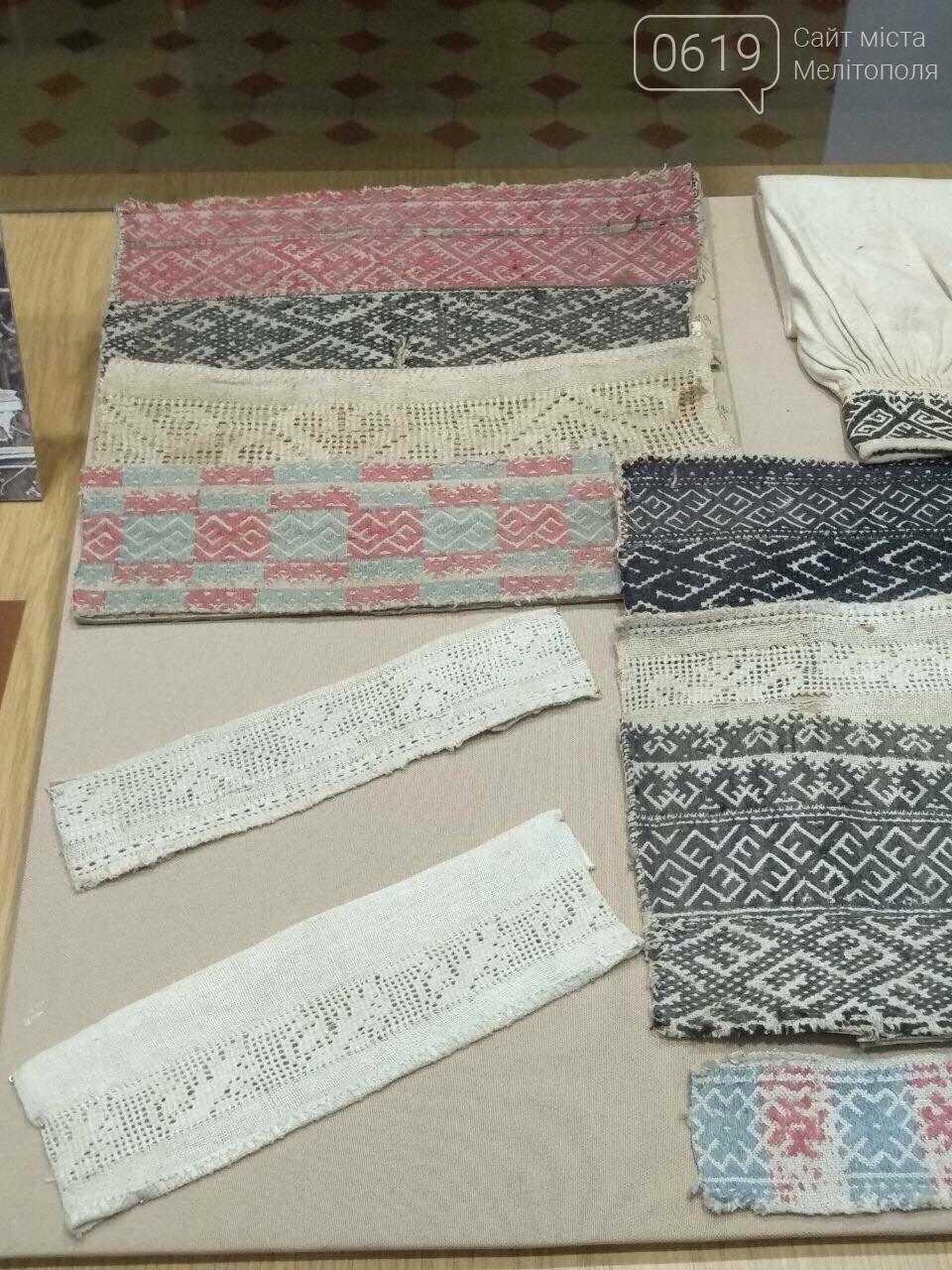 В Мелитополе представили уникальную коллекцию образцов вышиванок, фото-5