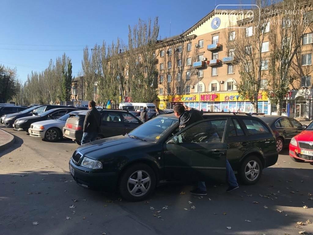 В Мелитополе протестовали против повышения цен на топливо , фото-4
