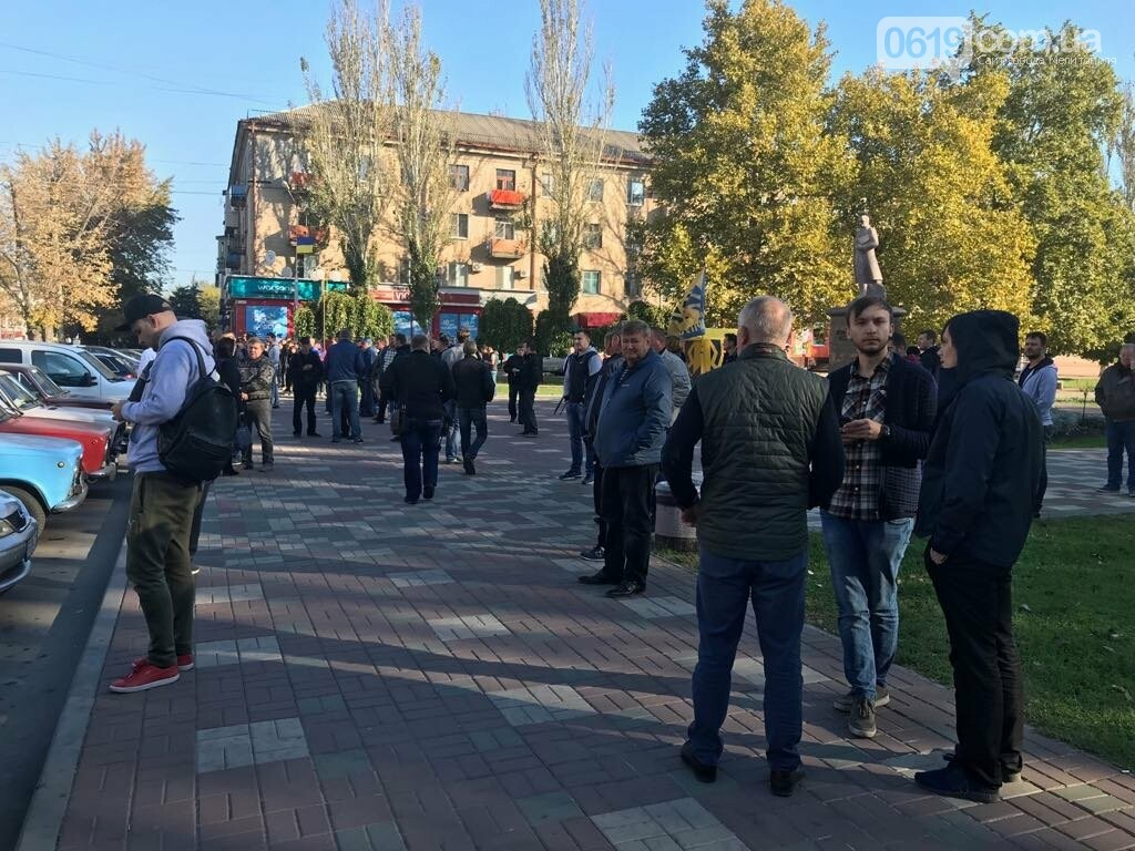 В Мелитополе протестовали против повышения цен на топливо , фото-2