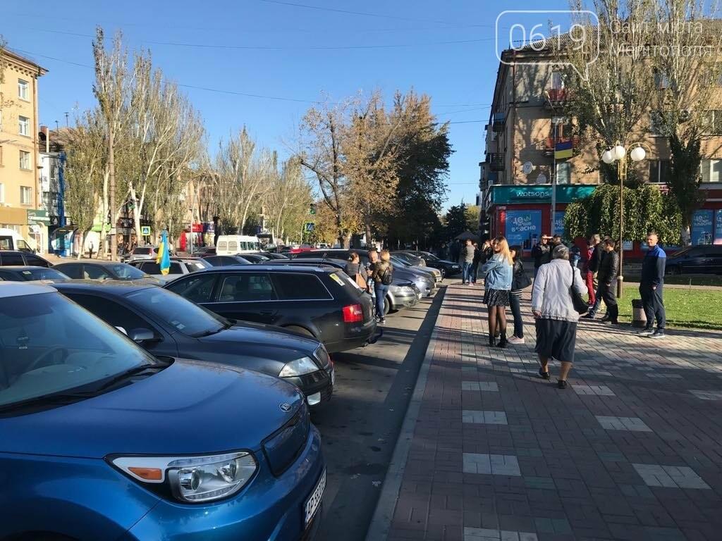 В Мелитополе протестовали против повышения цен на топливо , фото-6
