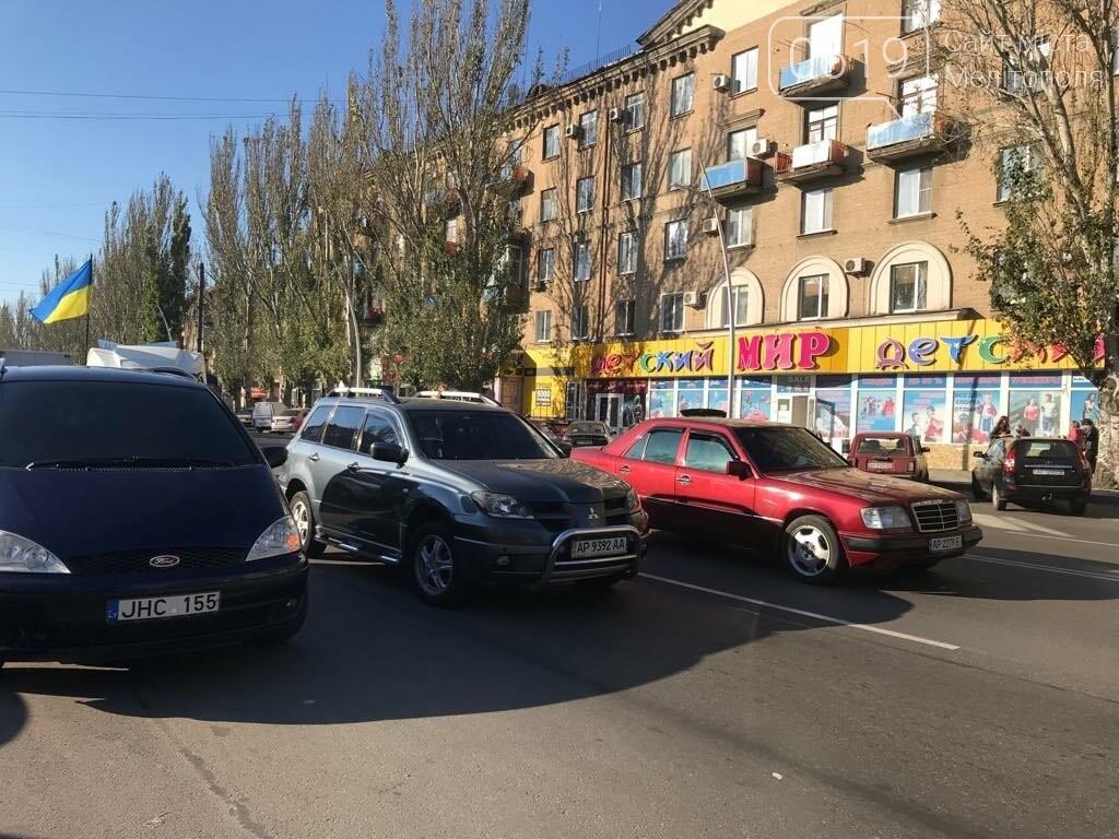 В Мелитополе протестовали против повышения цен на топливо , фото-8