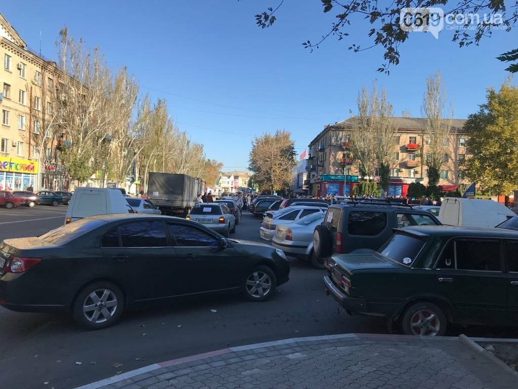 В Мелитополе протестовали против повышения цен на топливо , фото-1