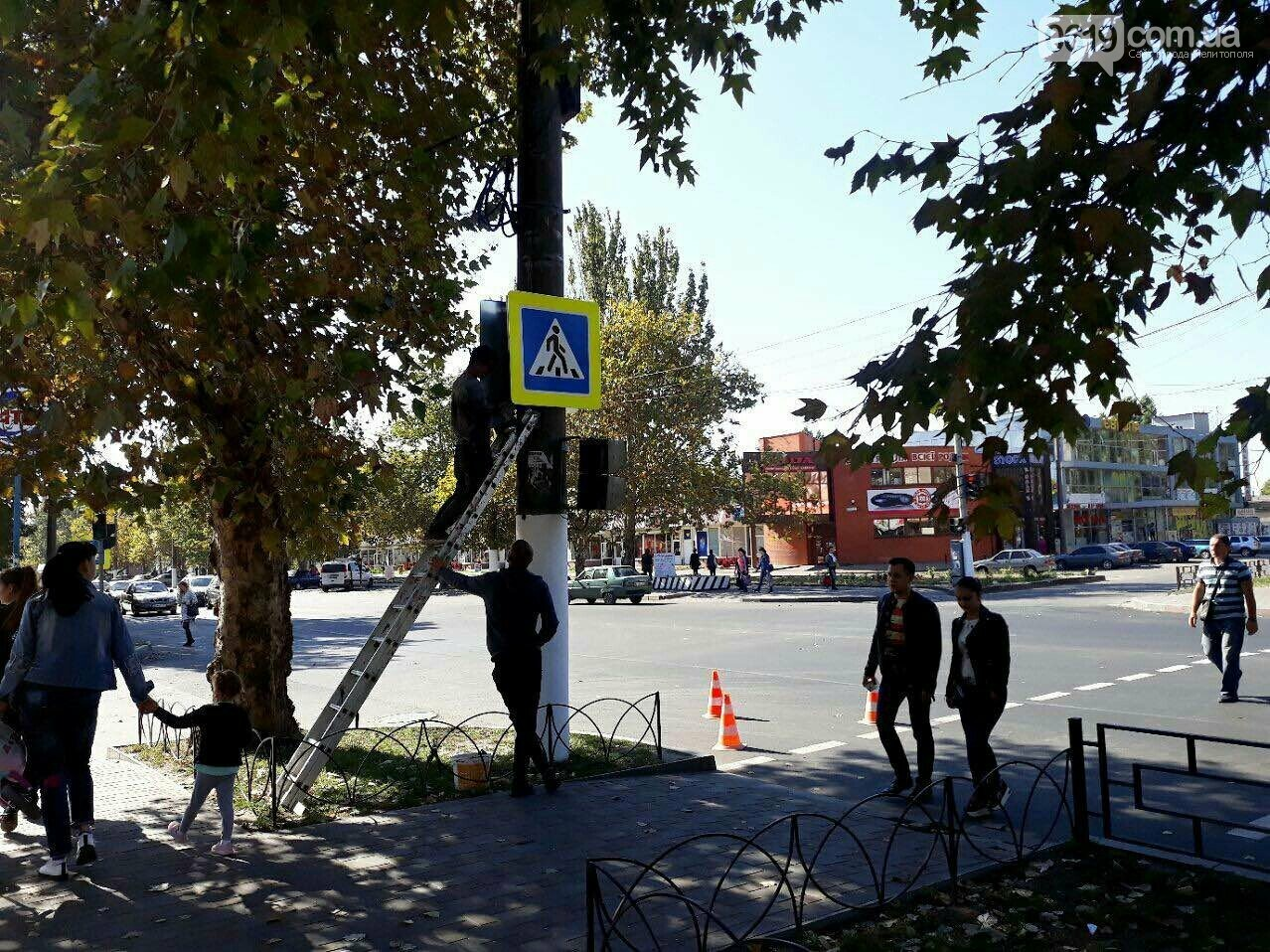 На микрорайоне устанавливают новые дорожные знаки , фото-1, Фото сайта 0619