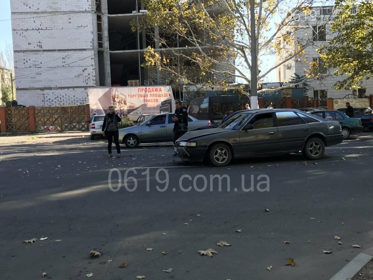 В Мелитополе столкнулись Opel и Mazda, - ФОТО, фото-3