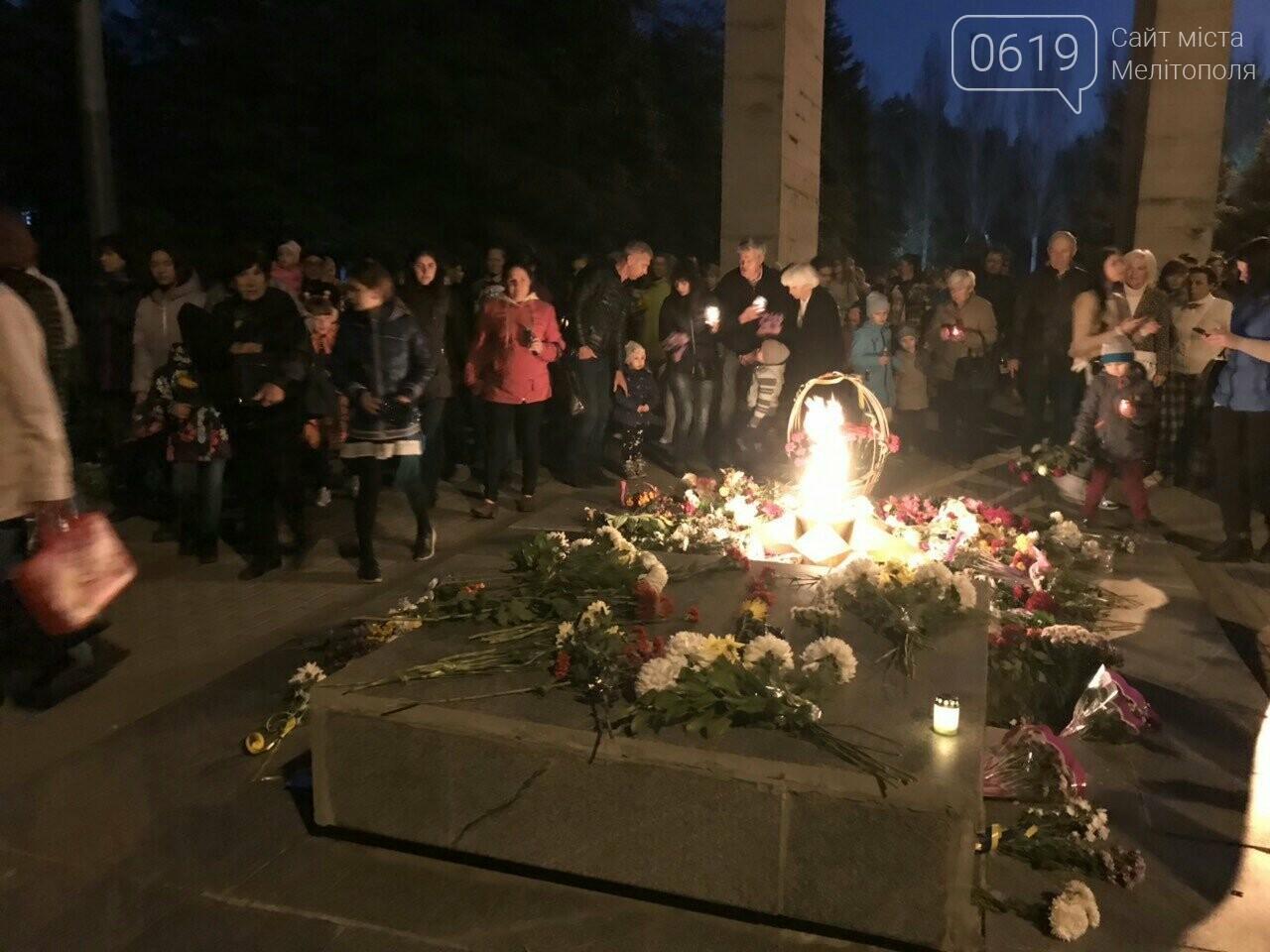 В Мелитополе День освобождения завершили традиционным факельным шествием, фото-4