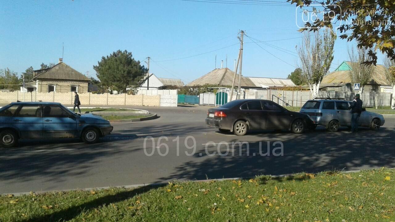 В Мелитополе произошло ДТП с участием трех автомобилей, - ФОТО, фото-3