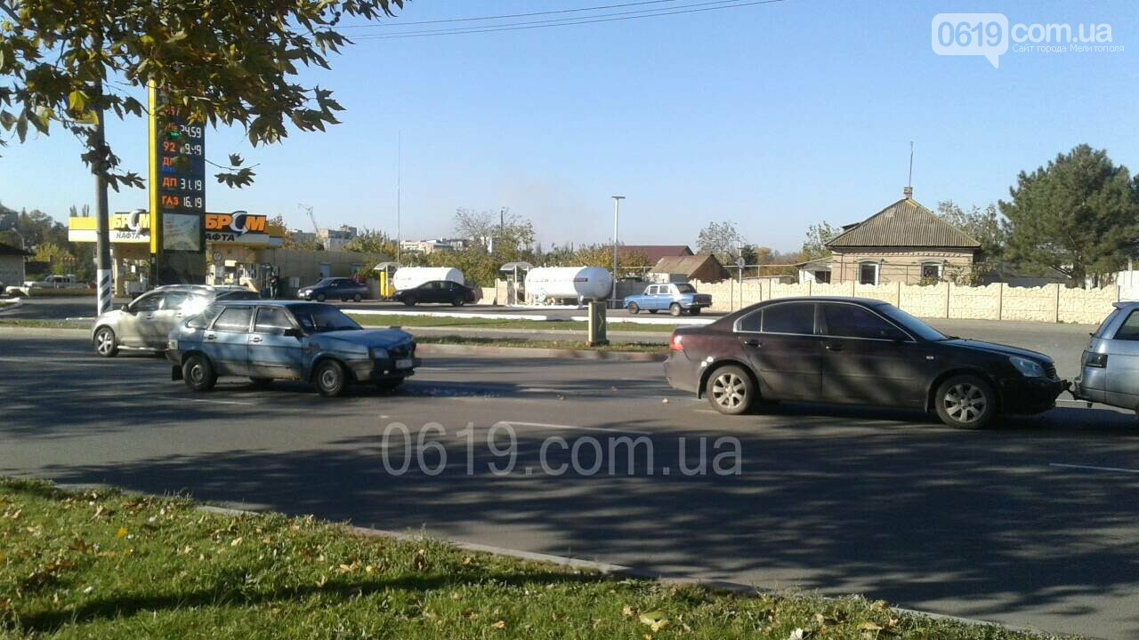 В Мелитополе произошло ДТП с участием трех автомобилей, - ФОТО, фото-2