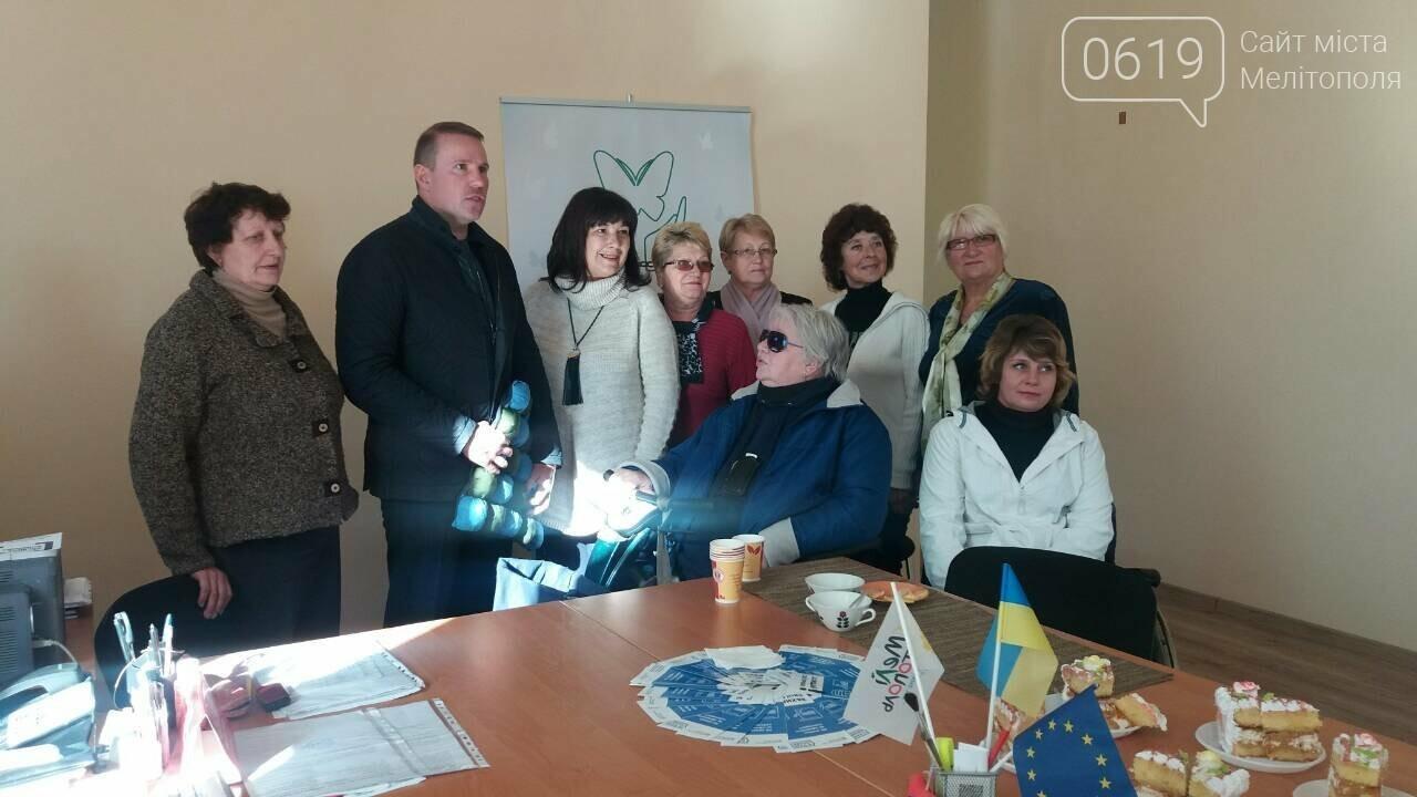 В здании Мелитопольского городского общества людей с инвалидностью сделали ремонт, фото-8