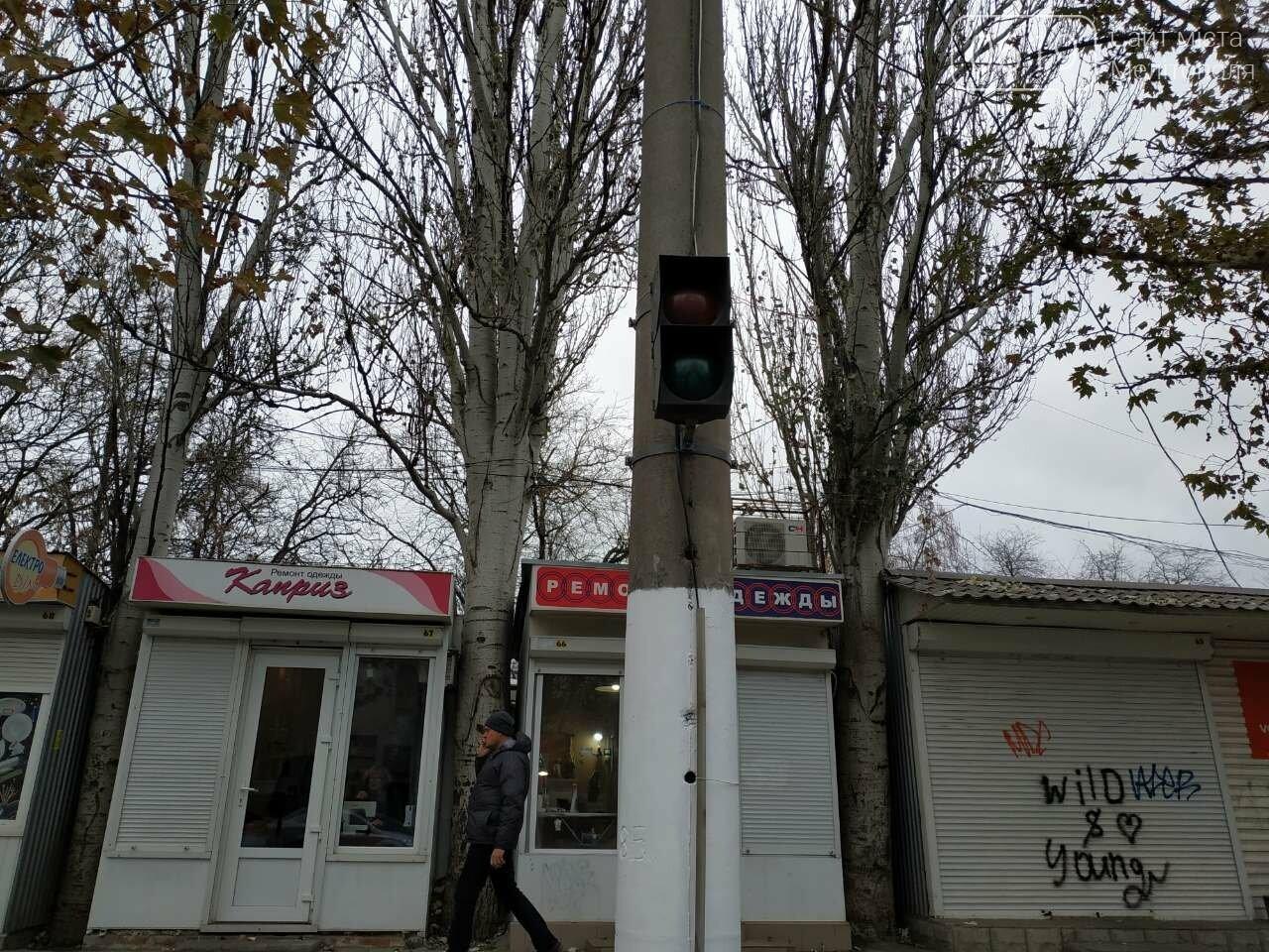 В Мелитополе установили еще один светофор , фото-2, Фото сайта 0619