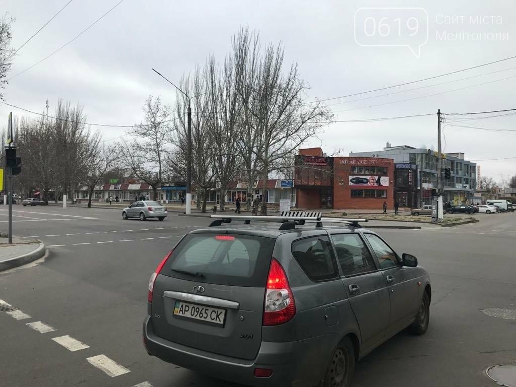 В Мелитополе на микрорайоне снова не работают светофоры, фото-1