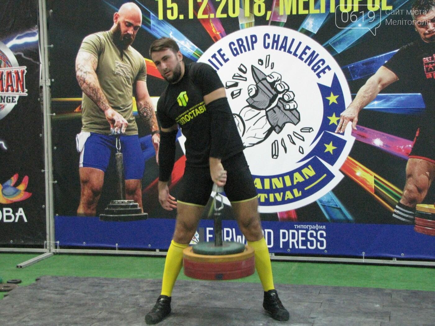 В Мелитополе сильнейшие атлеты соревновались в силе хвата, фото-27