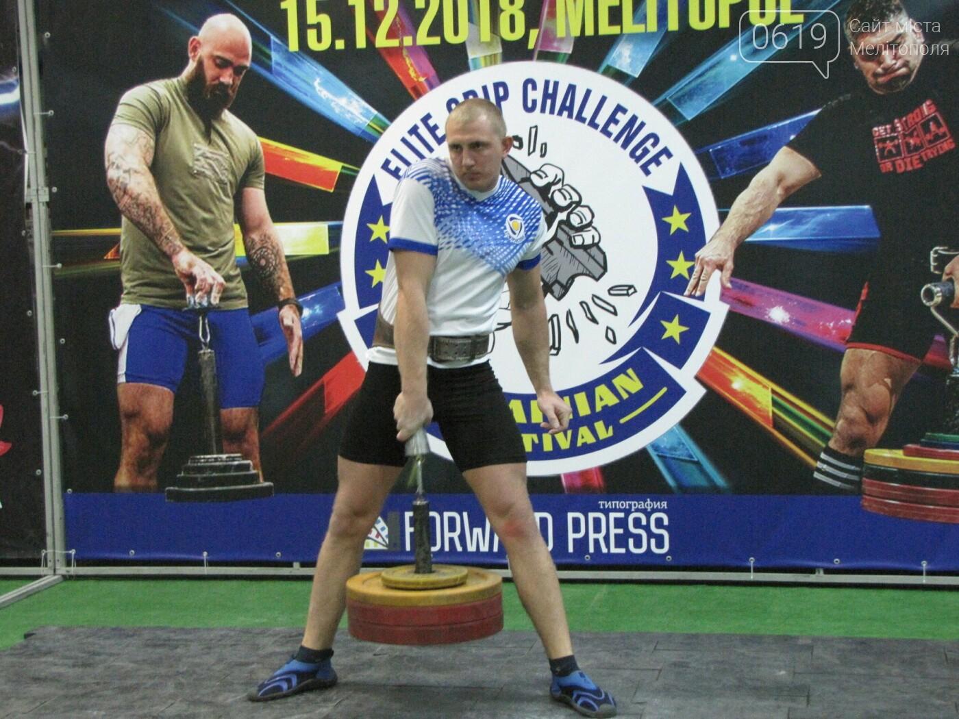 В Мелитополе сильнейшие атлеты соревновались в силе хвата, фото-50