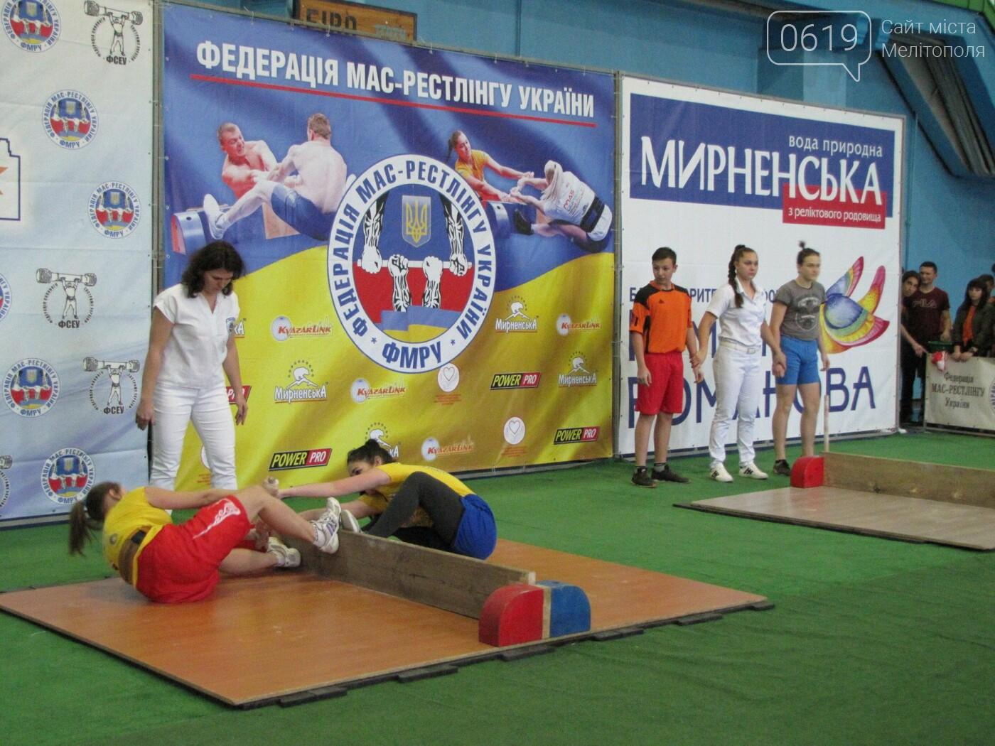 В Мелитополе на одном помосте сражались новички и титулованные мас-рестлеры , фото-12