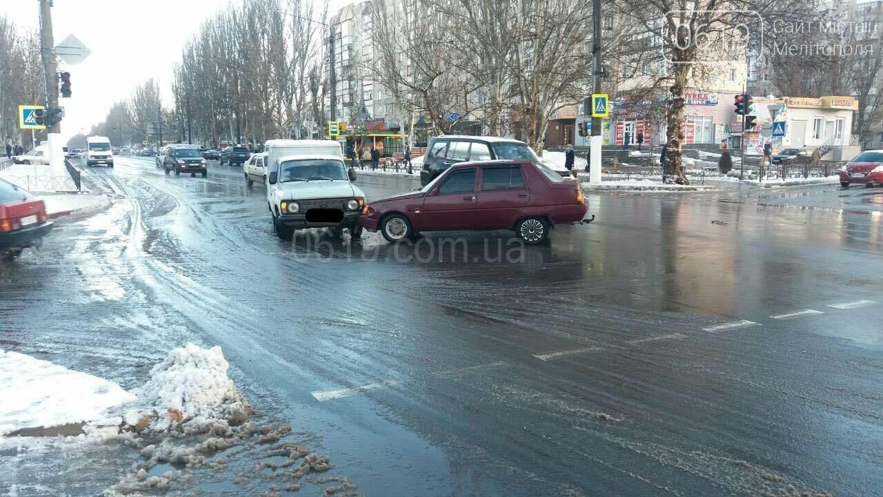 В Мелитополе на проспекте произошло ДТП , фото-1