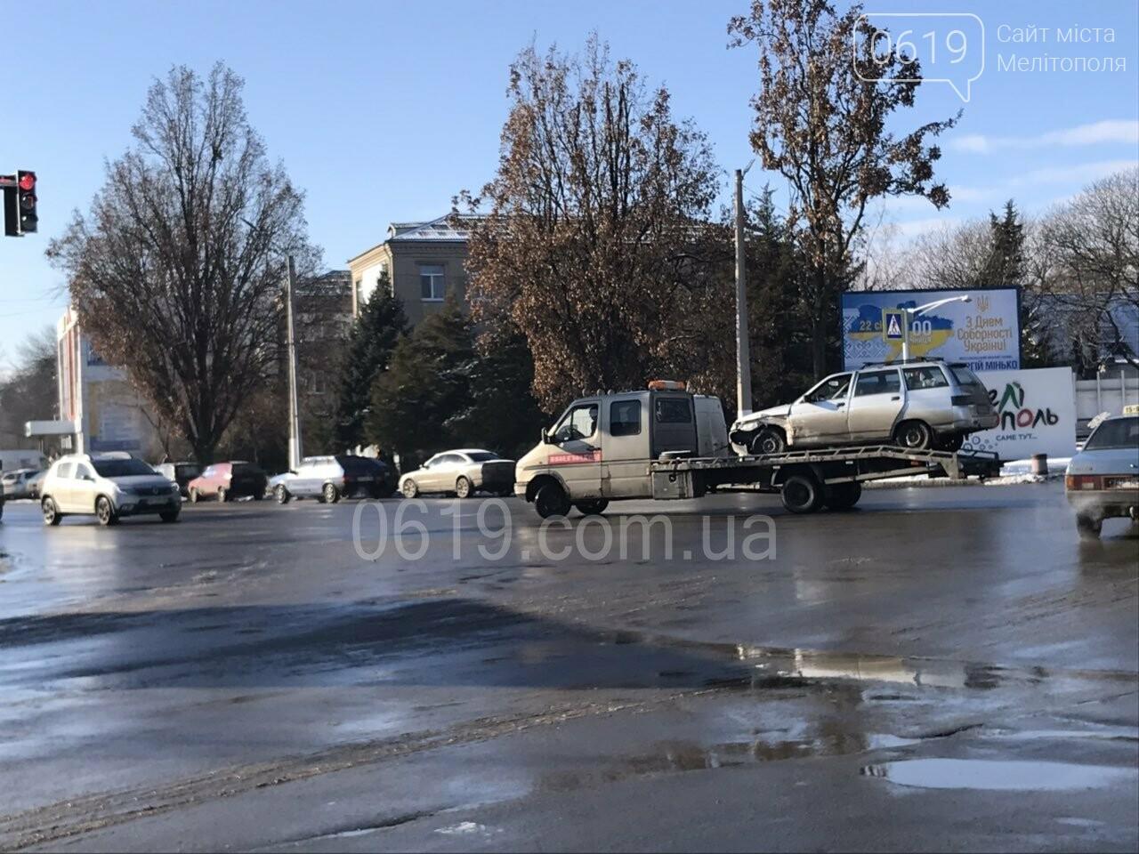 """В Мелитополе """"лоб в лоб"""" столкнулись два автомобиля, - ФОТО , фото-3"""