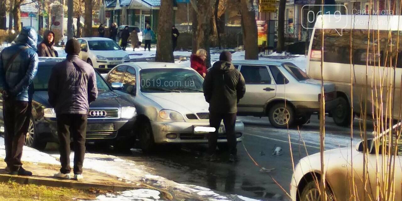 В Мелитополе возле школы произошло тройное ДТП, - ФОТО, фото-3