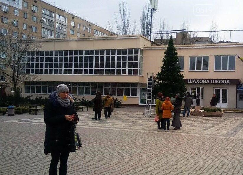 В разных районах Мелитополя разбирают елки , фото-1