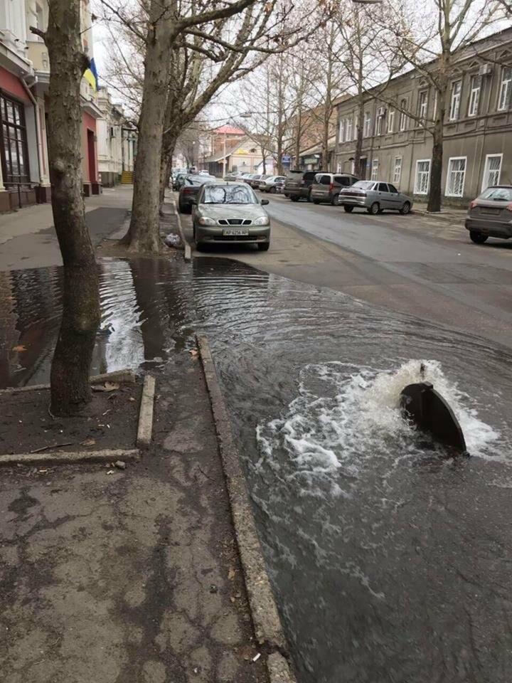 В Мелитополе затопило нижнюю часть города, - ФОТО , фото-2, Фото сайта 0619