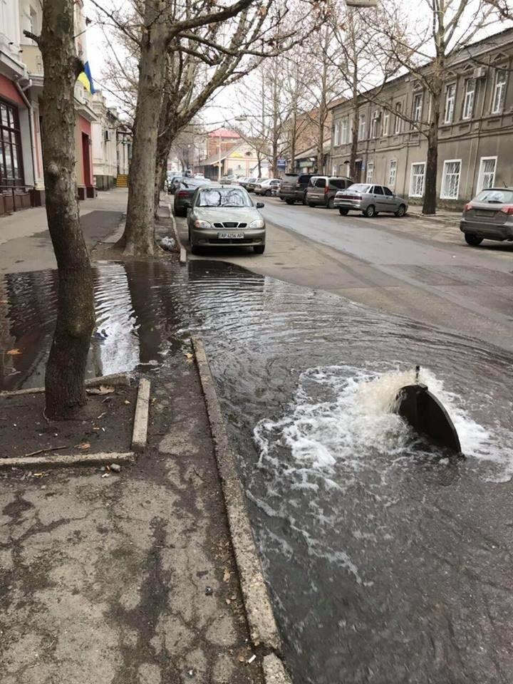В Мелитополе затопило нижнюю часть города, - ФОТО , фото-1, Фото сайта 0619