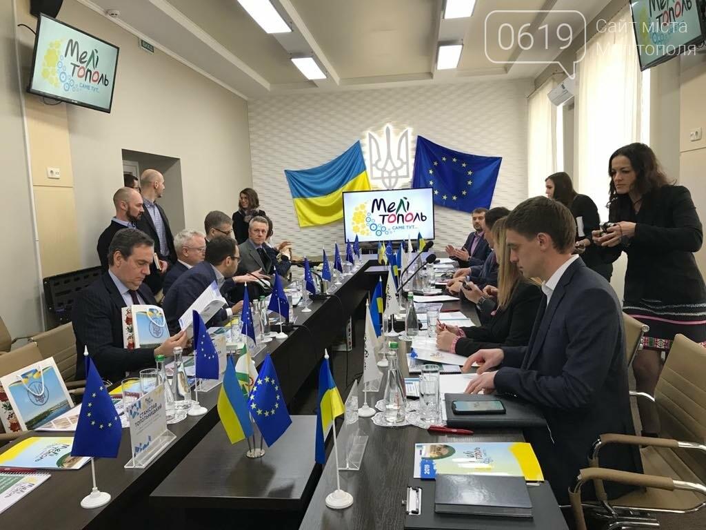 Мелитополь посетила делегация из Европейского Союза , фото-1