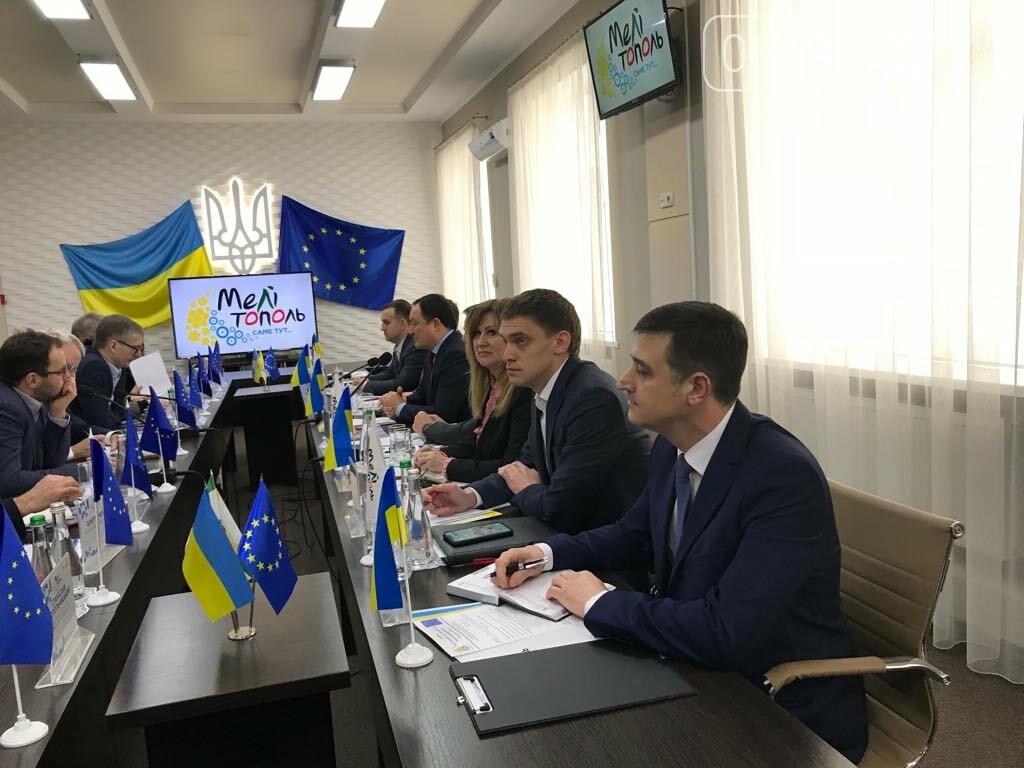 Мелитополь посетила делегация из Европейского Союза , фото-2