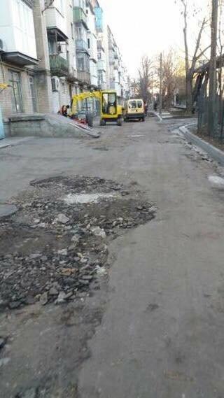 Мелитопольцы дождались ремонта дороги, фото-1, Фото предоставленные сайту 0619