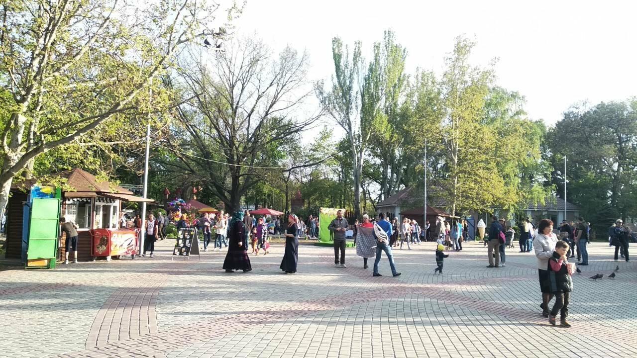 Мелитопольцы отметили День труда в парке , фото-2