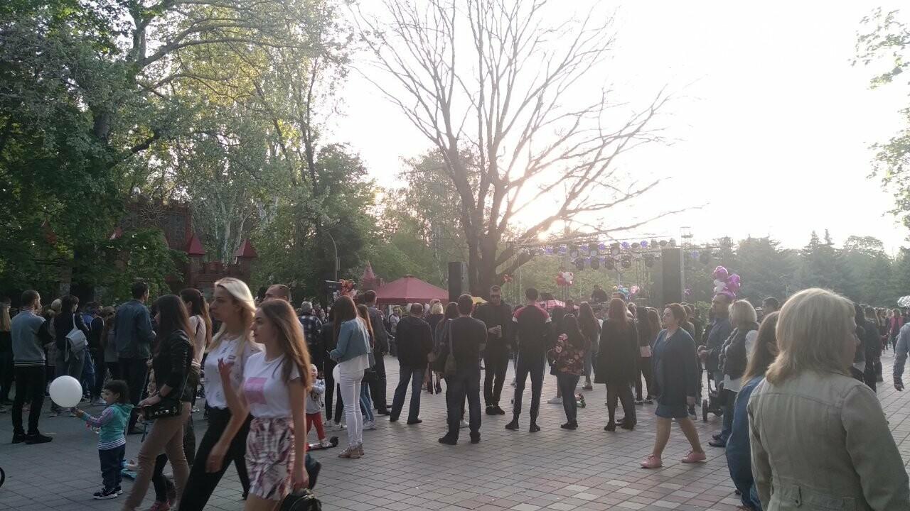 Мелитопольцы отметили День труда в парке , фото-4
