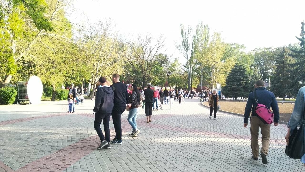 Мелитопольцы отметили День труда в парке , фото-5