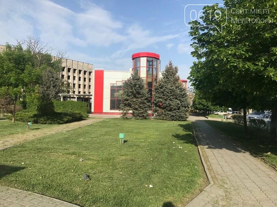 Зеленую зону в центре Мелитополя превратили в мусорку , фото-3
