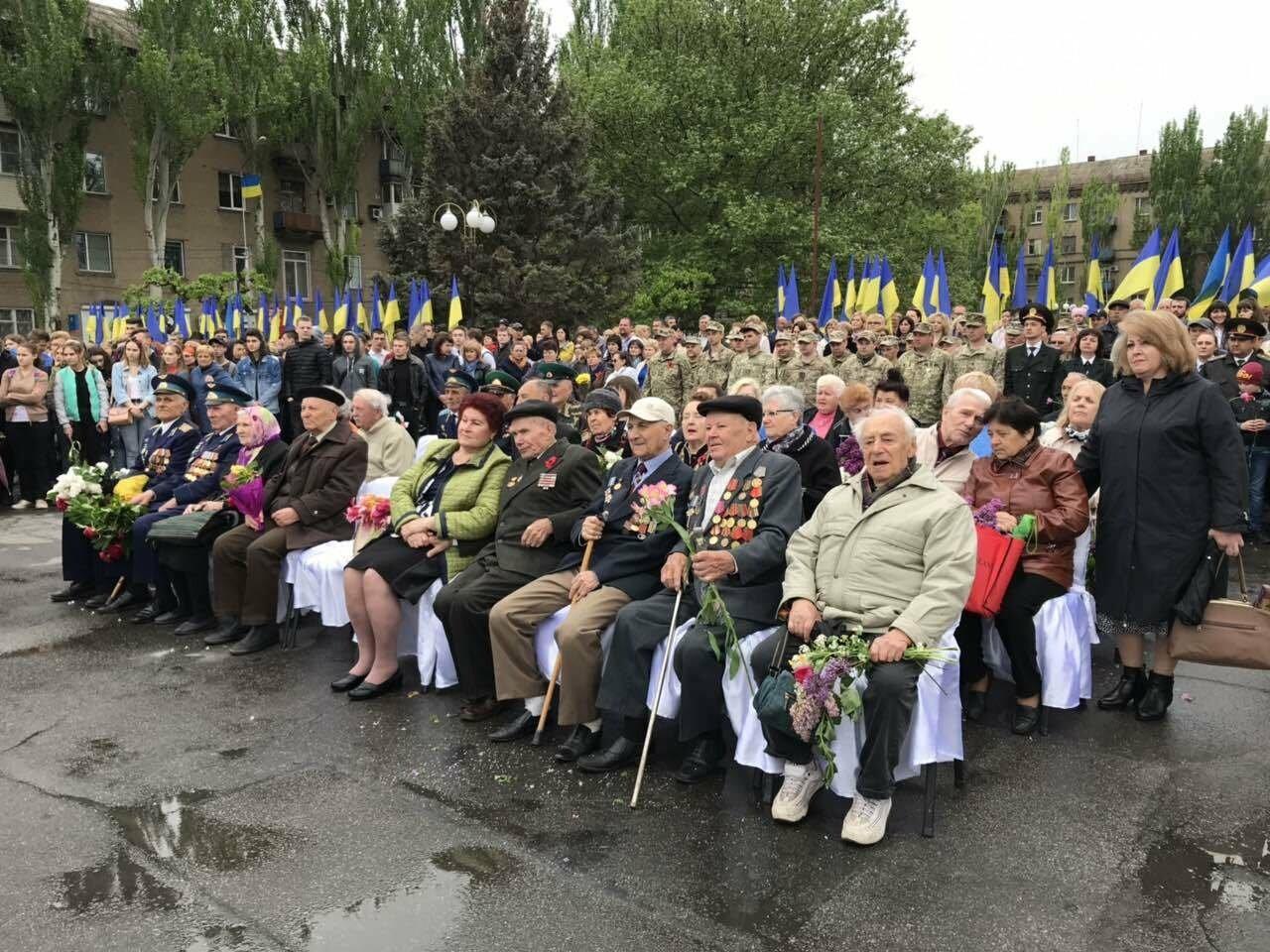 Погода не помешала мелитопольцам почтить память героев Второй мировой войны, фото-2