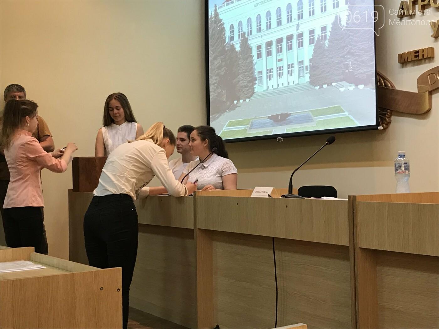 В Мелитополе прошла первая сессия Молодежного парламента , фото-7