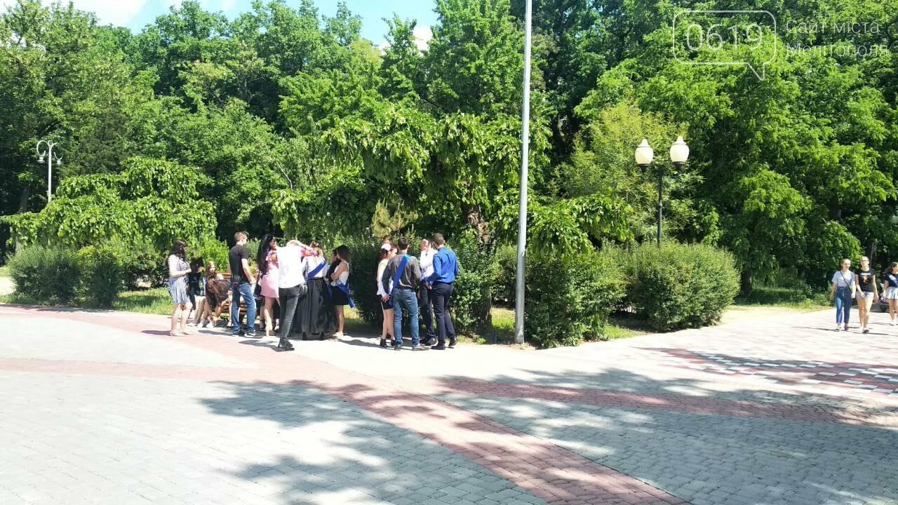 Прощание с детством: мелитопольские школьники распивают алкоголь в парке , фото-1