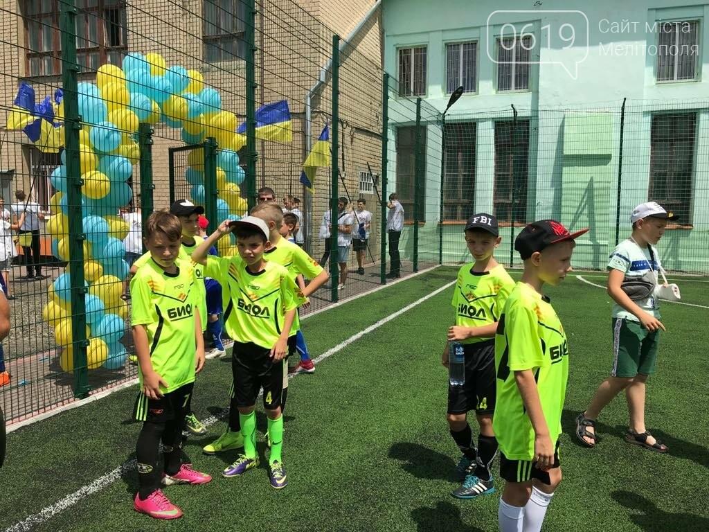 В Мелитополе открыли два футбольных поля, фото-2