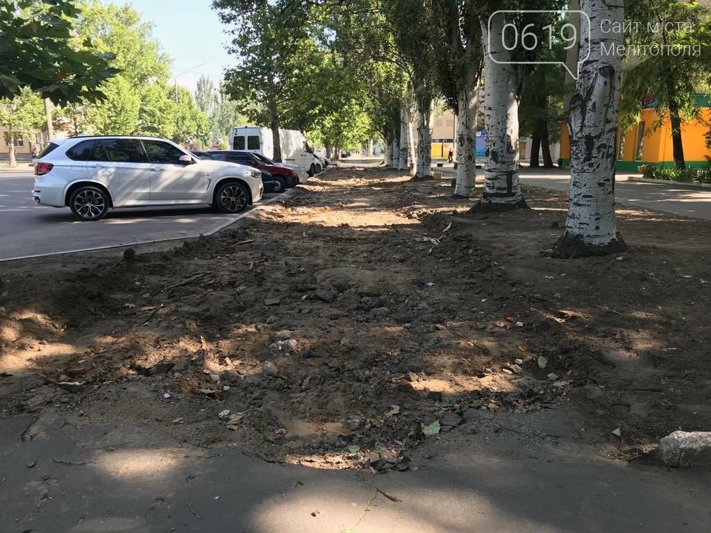 В Мелитополе на микрорайоне благоустраивают тротуар, фото-2