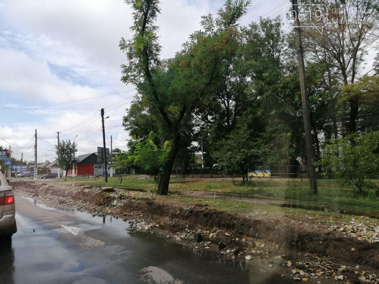 Ремонт самой оживленной дороги Мелитополя завершат в октябре , фото-1
