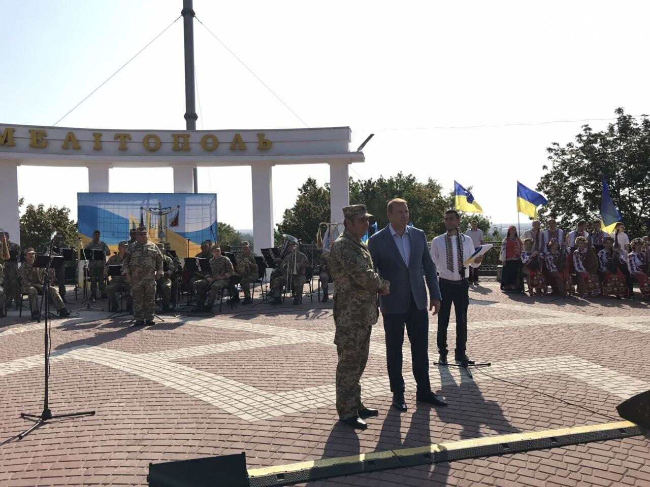 Мелитопольцы отметили День Государственного флага Украины, фото-24