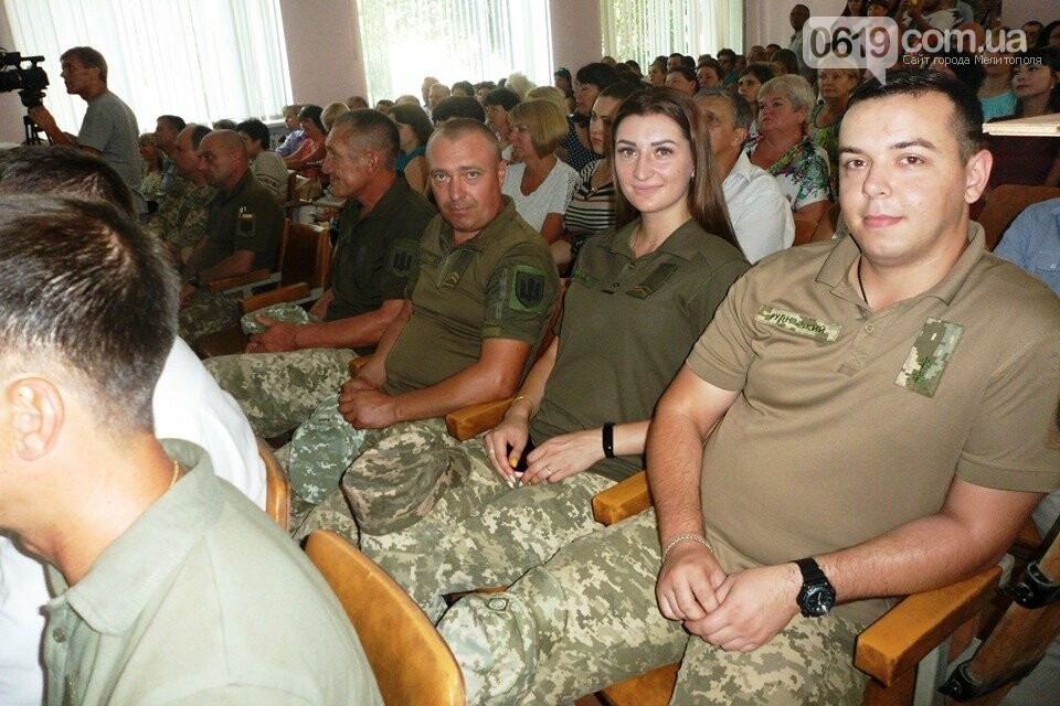Военнослужащие Мелитопольского района получили награды , фото-4