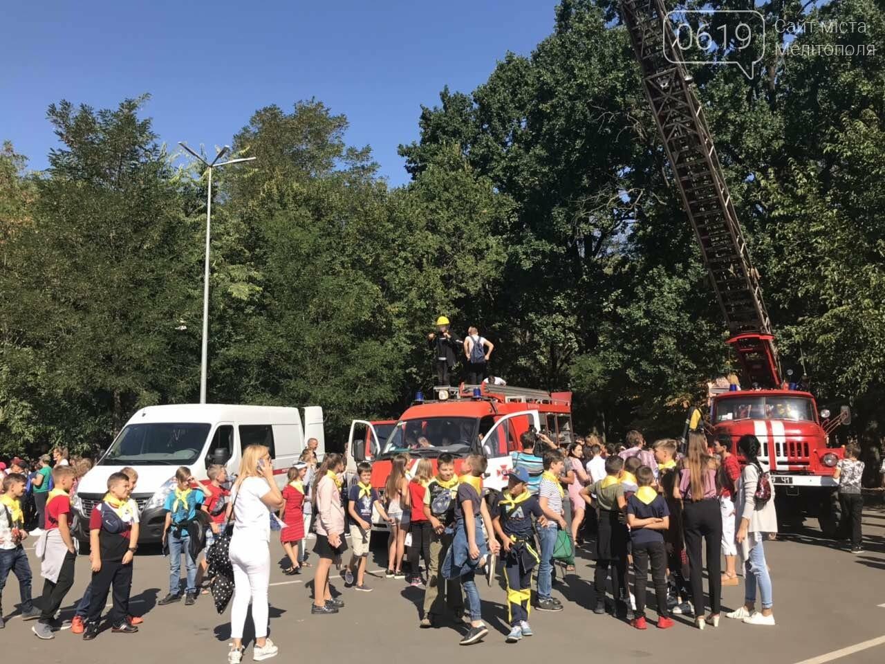 Мелитопольские спасатели провели масштабную акцию для детей, фото-2