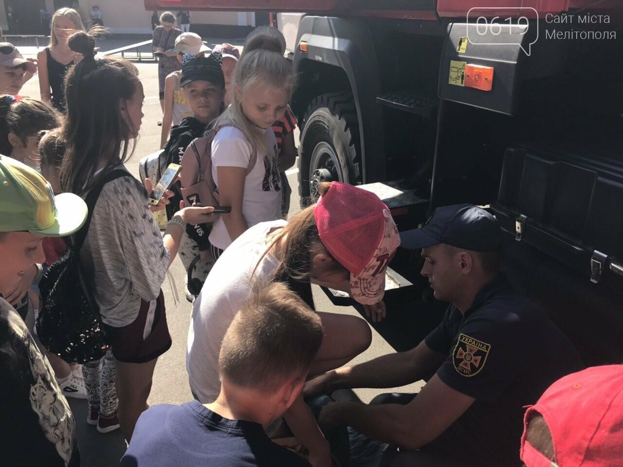 Мелитопольские спасатели провели масштабную акцию для детей, фото-19