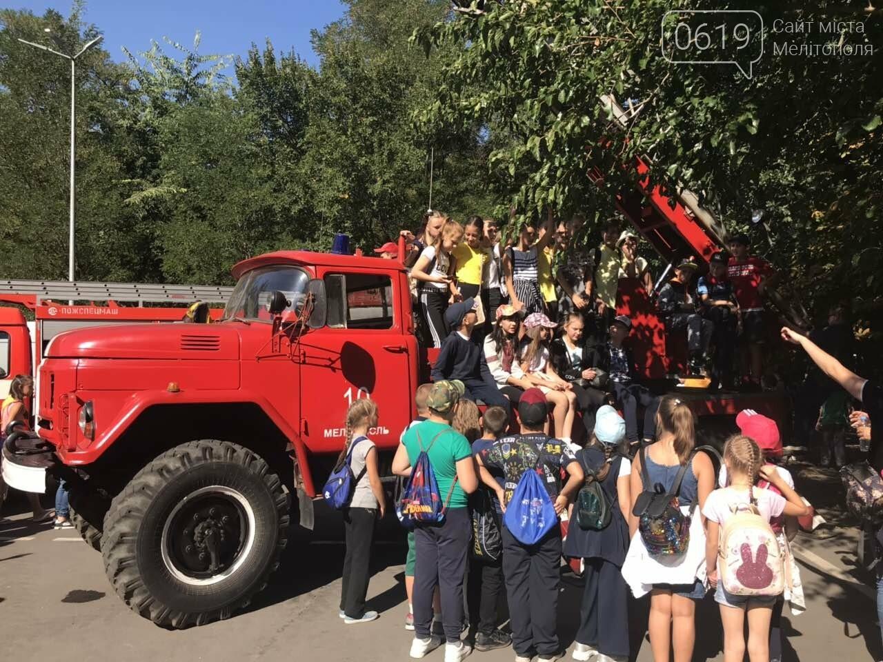Мелитопольские спасатели провели масштабную акцию для детей, фото-7