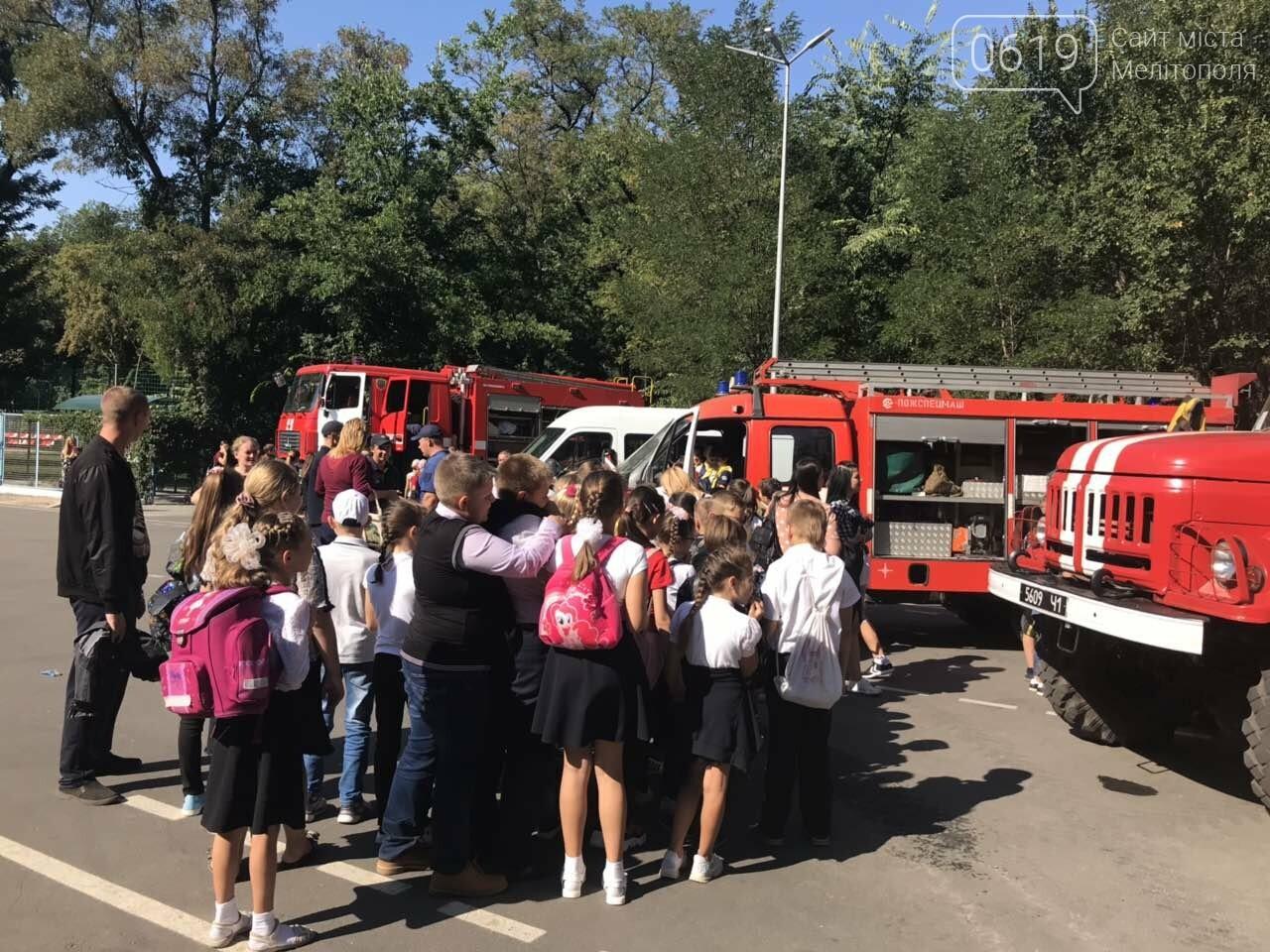 Мелитопольские спасатели провели масштабную акцию для детей, фото-8