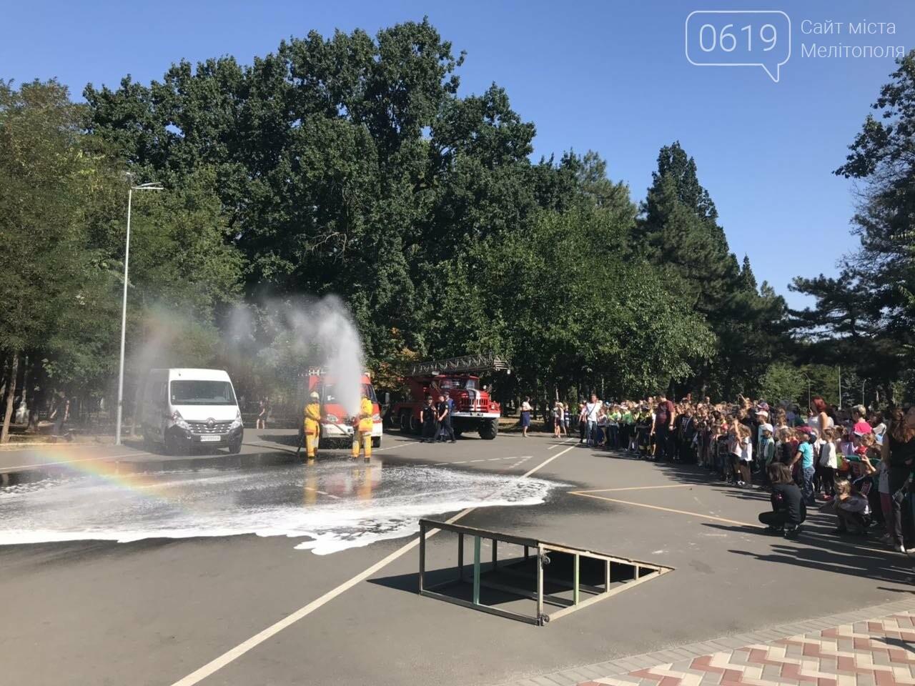 Мелитопольские спасатели провели масштабную акцию для детей, фото-16