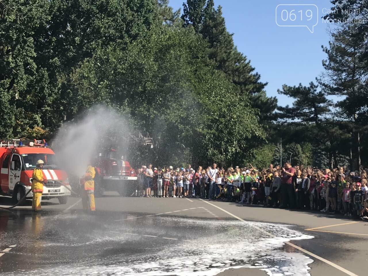 Мелитопольские спасатели провели масштабную акцию для детей, фото-17